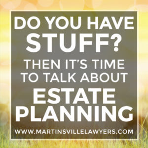 Do you have the stuff? Then it's time to talk about estate planning | blog post image